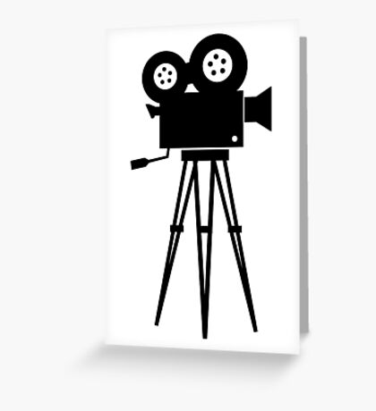 Filmmaker Greeting Card