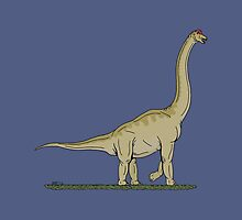 Brachiosaurus by Richard Fay