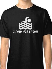 I Swim For Bacon Classic T-Shirt