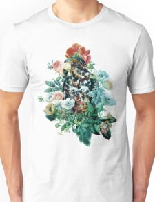 Bird in Flowers Unisex T-Shirt