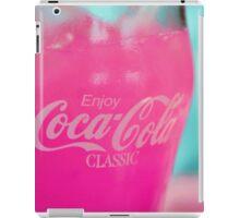 Pink Cola iPad Case/Skin