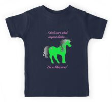 Because you are a unicorn! Kids Tee