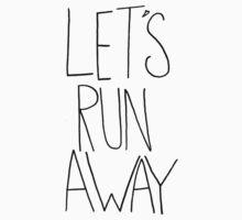 Let's Run Away x Arcadia Beach One Piece - Long Sleeve