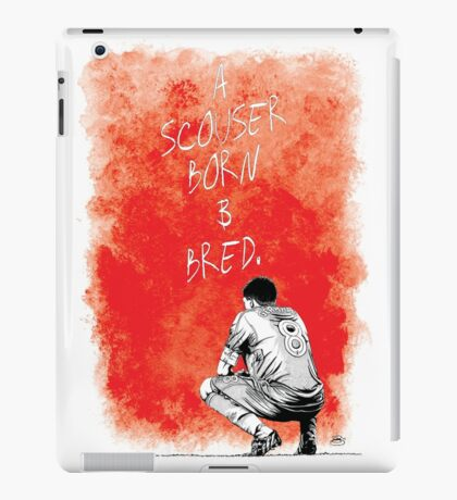 Steven Gerrard Artwork iPad Case/Skin