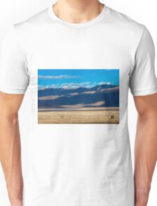 landscape of the route crossing the Death Valley Unisex T-Shirt