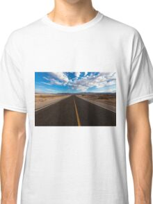On the road landscape of the Death Valley Classic T-Shirt