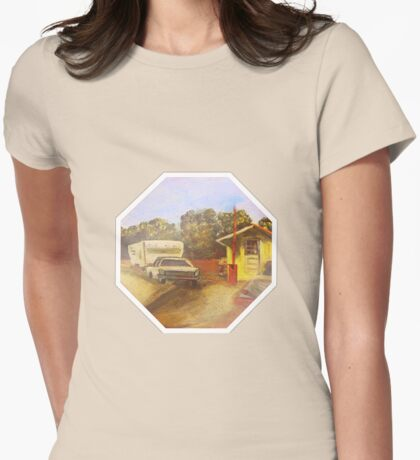 Toll Booth Womens Fitted T-Shirt