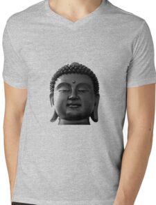 Zen Buddha Mens V-Neck T-Shirt