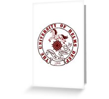 University of Rohan Greeting Card