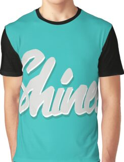 Shinee Brush Script 2 Graphic T-Shirt