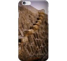 Granny's Teeth in Lyme Regis iPhone Case/Skin
