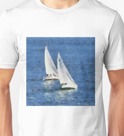 Yacht Race Unisex T-Shirt