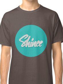 Shinee Brush Script Circle Classic T-Shirt