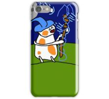A Wizard cat with comets iPhone Case/Skin