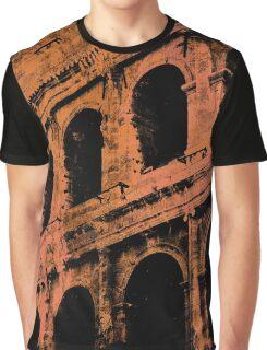 Rome - Colosseum in orange Graphic T-Shirt