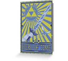 Wanted: Hero of Time Greeting Card