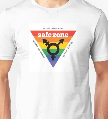 LGBT+ Safe Zone Equality Unisex T-Shirt
