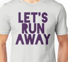Let's Run Away x Map Unisex T-Shirt