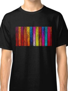 Colourful Old Wood Classic T-Shirt