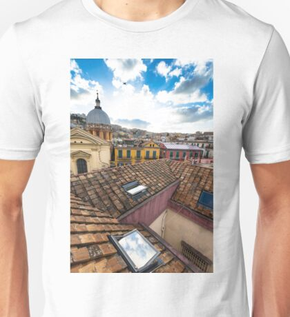 Naples at afternoon Unisex T-Shirt