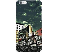 Downtown Oslo skyline by Tim Constable iPhone Case/Skin