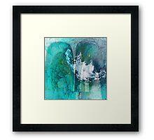 Stormy Blue Framed Print