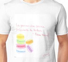 Watercolor macarons Unisex T-Shirt