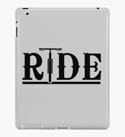 Ride Bikes iPad Case/Skin