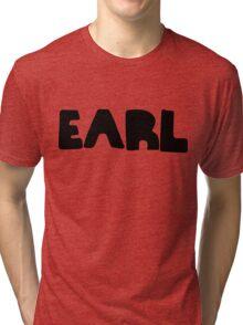 Earl Version 1 Black Ink Tri-blend T-Shirt