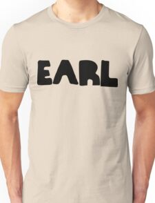 Earl Version 1 Black Ink Unisex T-Shirt