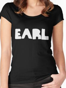 Earl White Ink Women's Fitted Scoop T-Shirt