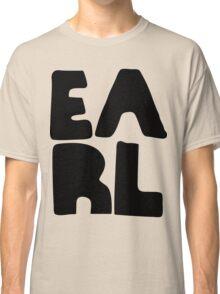 Earl Version 2 Black Ink Classic T-Shirt