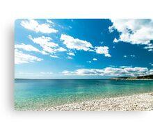 summer day in Croatia Canvas Print