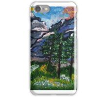 mountain range iPhone Case/Skin