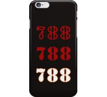 H.I.S.S. Numbers iPhone Case/Skin