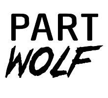 Part Wolf Photographic Print