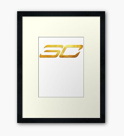 Steph Curry Framed Print