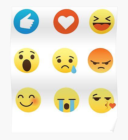 I Love I Like Swimming Emoji Emoticon Funny Sports Graphic Tee Shirt Poster