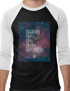 The Lux Series - Galaxy Men's Baseball ¾ T-Shirt