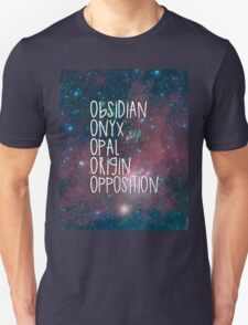 The Lux Series - Galaxy Unisex T-Shirt