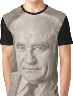 Ed Asner, Actor Graphic T-Shirt