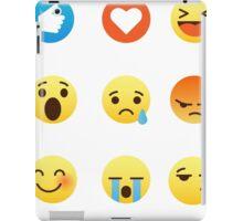 I Love Yoga I Like Yoga Emoji Emoticon Graphic Tee Shirt Funny Sports iPad Case/Skin