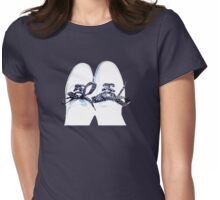 POLKA DOT LACES (1) Womens Fitted T-Shirt