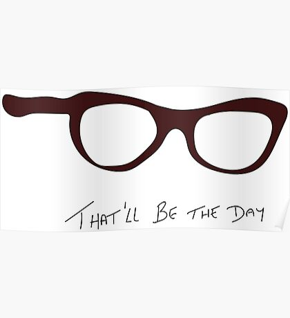 Buddy Holly: That'll be the Day Tribute Poster
