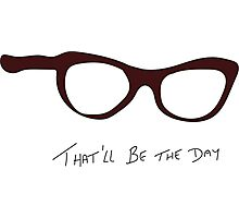 Buddy Holly: That'll be the Day Tribute Photographic Print