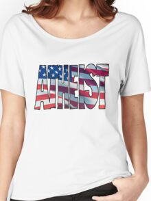USA ATHEIST Women's Relaxed Fit T-Shirt