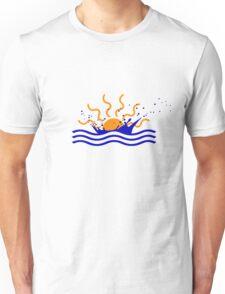Sunset Splash Unisex T-Shirt