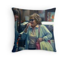 Don't Waste a Day Throw Pillow