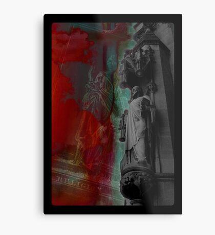 Religion Tarot Metal Print