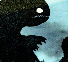 Sea monster & Lighthouse Sticker